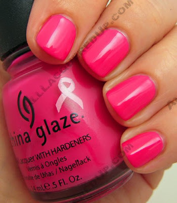 china glaze bca think pink rich famous Think Pink for BCA with China Glaze and AII Beauty