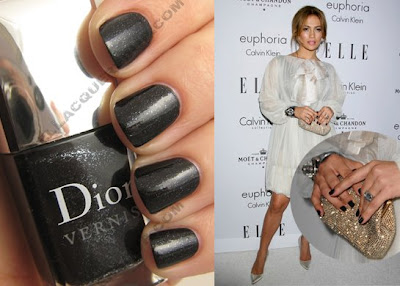 dior vernis black sequins jennifer lopez holiday 2008 Dior Holiday 2008   Black Diamonds