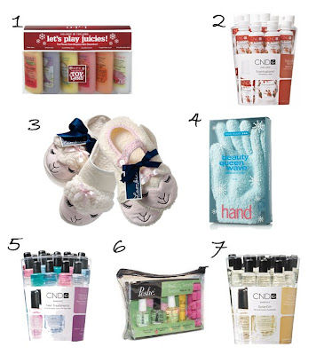 holiday 2008 manicure pedicure gift kit basket Nail Fanatic Gift Guide   Hands, Feet, Body & More