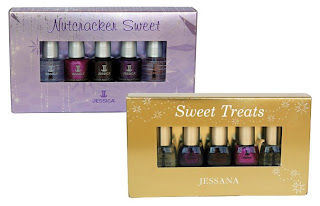 jessica nail holiday 2008 nutcracker suite sweet treats Jessica Custom Nail Colour   Holiday Petites