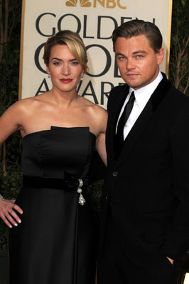 kate winslet leonardo dicaprio golden globes 2009 Golden Globes Nail Watch   Kate Winslet