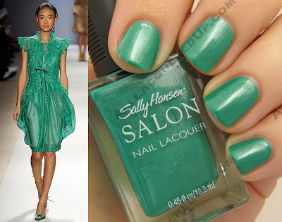 tracy reese for sally hansen honeydew wm style Tracy Reese for Sally Hansen Spring 2009