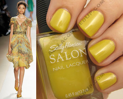 tracy reese for sally hansen forsythia wm style Tracy Reese for Sally Hansen Spring 2009