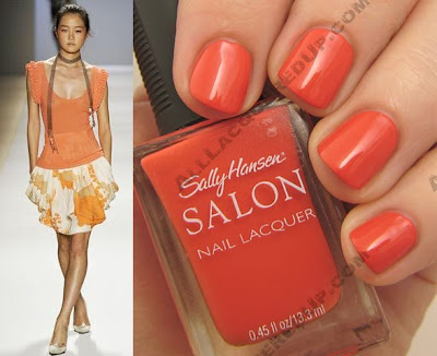 tracy reese for sally hansen nasturtium wm style Tracy Reese for Sally Hansen Spring 2009