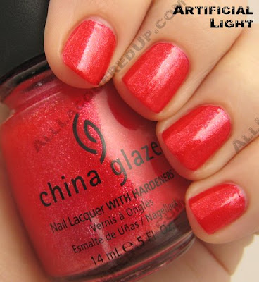 china glaze cherry pie summer days 2009 China Glaze Summer Days
