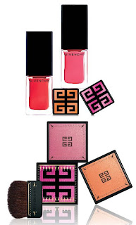givenchy spring 2009 vernis please sari glow iridescent blush Givenchy Maharani Pink for Spring Summer 2009