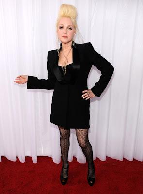 51st Annual Grammy Awards, nail polish, nail trends, Cyndi Lauper