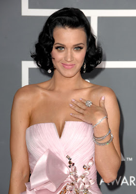 51st Annual Grammy Awards, nail polish, nail trends, Katy Perry
