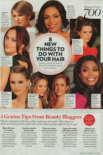 all lacquered up glamour page 83 Lookie... Im In Glamour Magazine