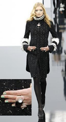 GREEN Polish Hits The Chanel Runway
