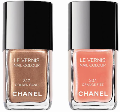 Chanel Summer 2009 Preview   Orange Fizz & Golden Sand