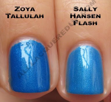 zoya tallulah sally hansen flash Zoya Ooh La La for Summer 2009