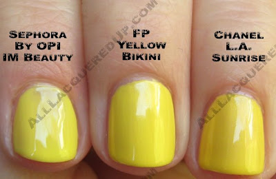 finger paints yellow bikini chanel la sunrise wm Finger Paints Sunburst Summer
