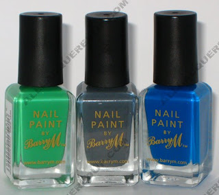 barry m nail paint bottles Barry M Nail Paints