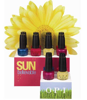 OPI SUNBelievable Collection