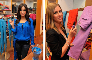 nicky hilton, jessica lowndes, opi, paige premium denim, bright pair, summer 2009, nail polish