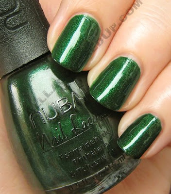 nubar greener going green nail polish Nubar Going Green Collection Review & Swatches