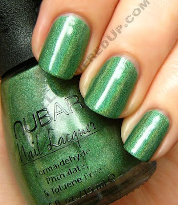nubar reclaim going green nail polish Nubar Going Green Collection Review &amp; Swatches