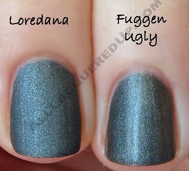 zoya, loredana, man glaze, fuggen ugly, matte velvet, mattevelvet, matte nail polish, zoya matte nail polish, nail polish, nail lacquer