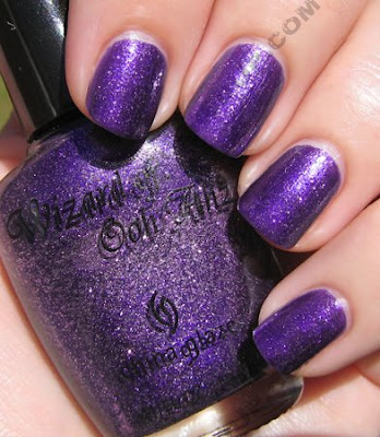 china glaze c c courage wizard of ooh ahz The ALU Archives   China Glaze C C Courage