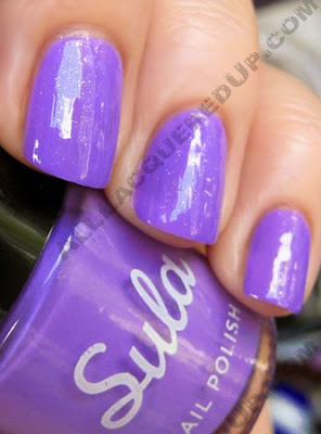 sula modern mauve paint peel polish metallic top Sula Paint and Peel Polish Swatches and Review