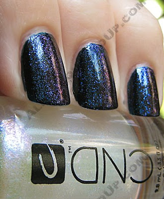 cnd inkwell colour sapphire sparkle effect CND Colour, Effects and Henna?