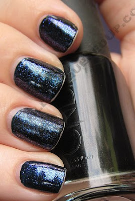 Nails Inc Kensington Caviar Top Coat Review : All Lacquered Up