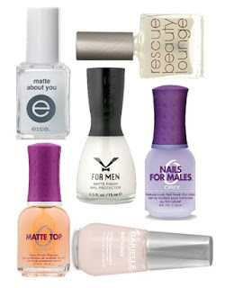 matte top coat comparison matte nail trend Matte Top Coats   Lets Compare