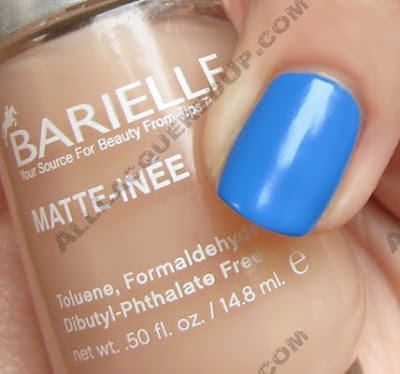 barielle matte inee top coat opi no room for blues Matte Top Coats   Lets Compare