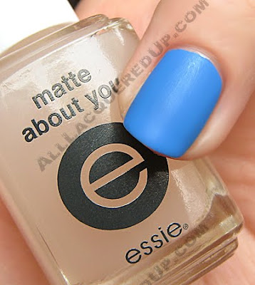 essie matte about you top coat opi no room for the blues Matte Top Coats   Lets Compare