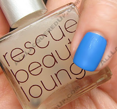 rescue beauty lounge matte top coat opi no room for the blues Matte Top Coats   Lets Compare