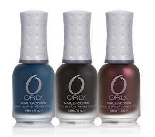 orly matte couture fall 2009 nail polish collection Orly Matte Couture Collection Swatches & Review