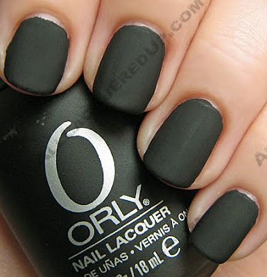 orly matte vinyl matte couture nail polish fall 2009 Orly Matte Couture Collection Swatches &amp; Review