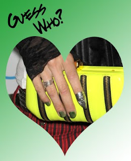 green nails celebrity trend Celebrity Nail Watch   Who Embraced the Green Nail Trend?