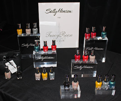 tracy reese sally hansen complete salon manicure spring summer 2010  Backstage with Sally Hansen at Tracy Reese S/S 10