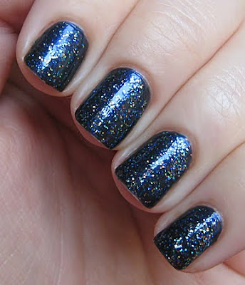 sally hansen in the navy disco ball nyfw notd My Fashion Week NOTD Challenge Wrap Up