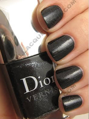 dior black sequins le vernis cristal boreale holiday Dior Silver Purple Le Vernis for Holiday 2009 Swatches &amp; Review