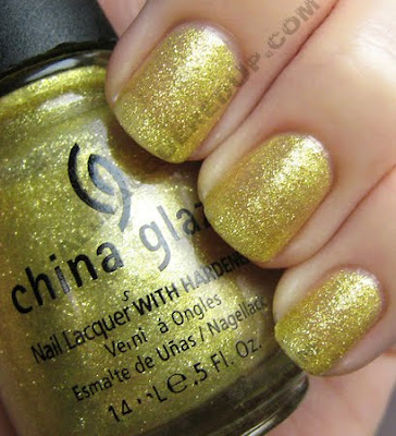 china glaze 5 golden rings i love you snow much holiday 2009 China Glaze Loves You Snow Much Holiday Swatches & Review