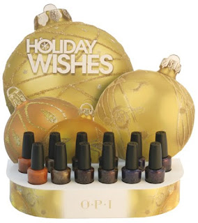 opi holiday wishes 2009 winter nail polish collection OPI Holiday Wishes Collection Swatches & Review