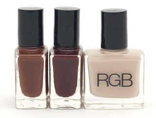 RGB Cosmetics Fall 09 Swatches & Review