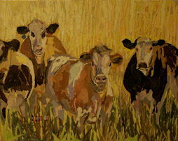 Yellow Field Cows