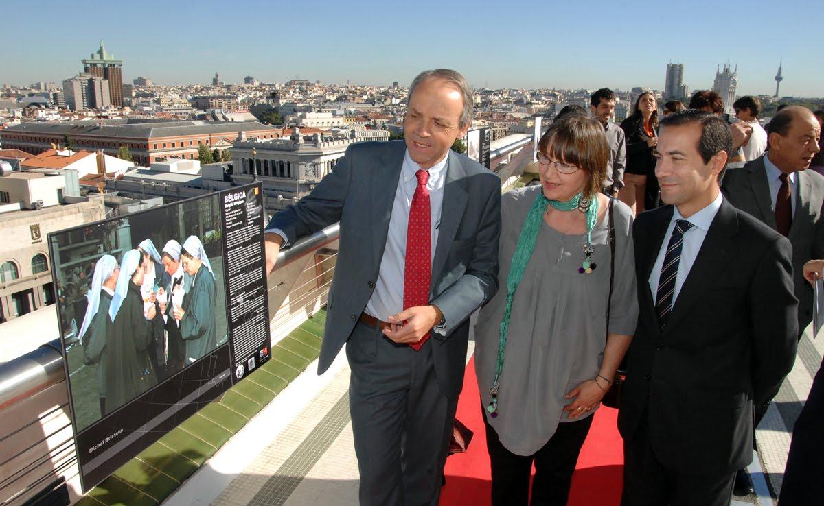 Miradas de Europa - Inauguración, Circulo de Bellas Artes, Madrid 20/10/2010 - Click on picture