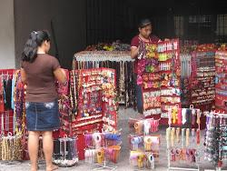 Markedsbod i Colima