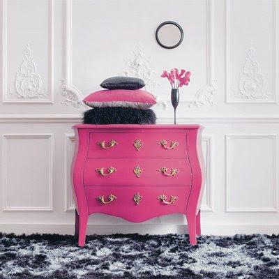 inside out rose magenta. Black Bedroom Furniture Sets. Home Design Ideas