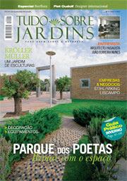 Recomendo: Revista Tudo Sobre Jardins