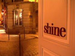 Shine rue de Poitou paris
