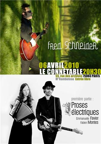 Concert gratuit la conntable marais
