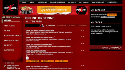 Toggle navigation. Menu and Order; Catering; Home ; Locations ; Wei Forward ; My Wei Rewards ; Careers.