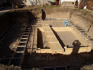 Самоделкин.com/Фундамент: Заливка бетона.