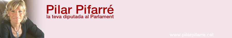 Pilar Pifarré. Oficina Parlamentària online. www.pilarpifarre.cat